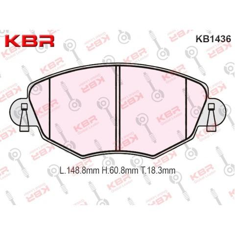 KB1436   -   Brake Pad