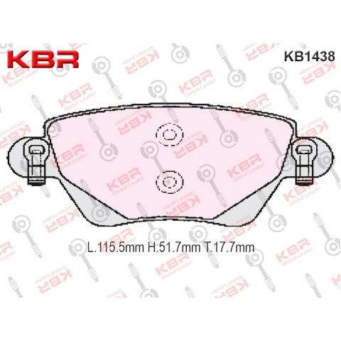 KB1438   -   Brake Pad