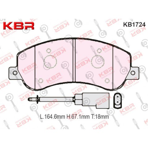 KB1724   -   Brake Pad