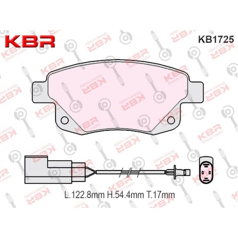 KB1725   -   Brake Pad
