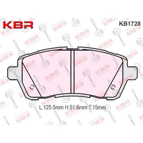 KB1728   -   Brake Pad
