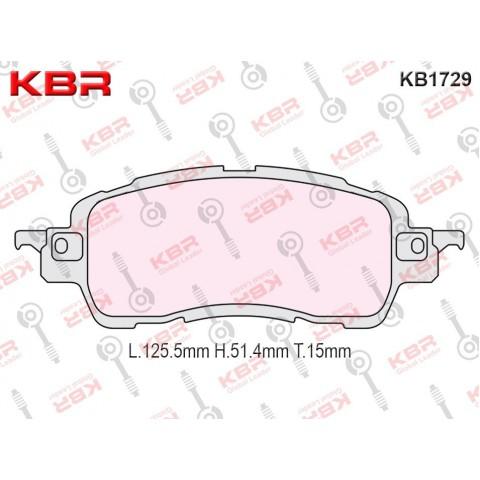 KB1729   -   Brake Pad