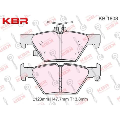 KB1808   -   Brake Pad