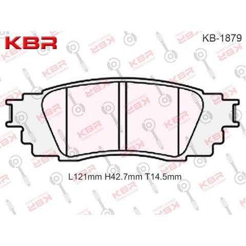 KB1879   -   Brake Pad
