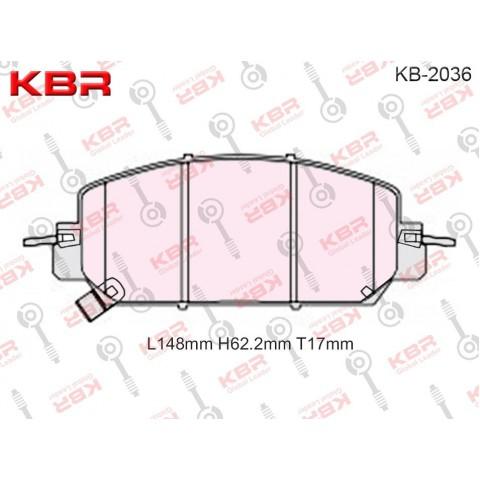 KB2036   -   Brake Pad