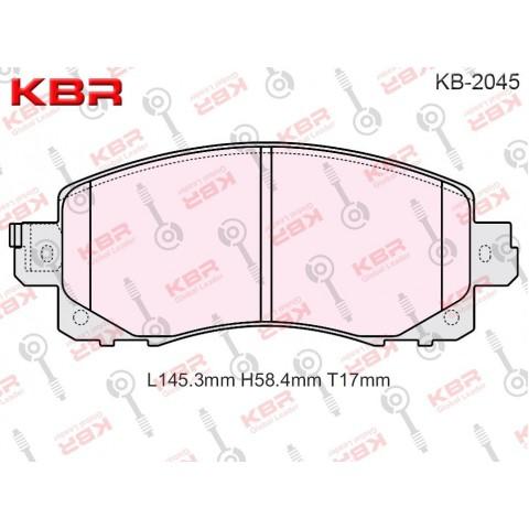KB2045   -   Brake Pad