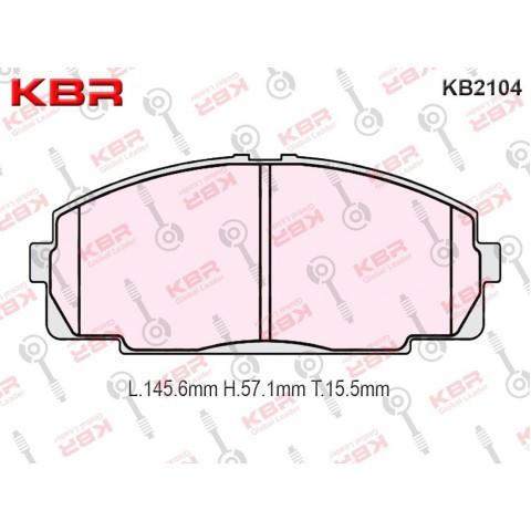 KB2104   -   Brake Pad