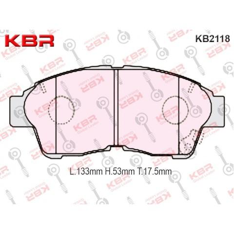 KB2118   -   Brake Pad