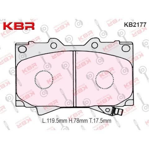 KB2177   -   Brake Pad