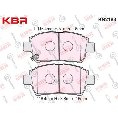 KB2183   -   Brake Pad