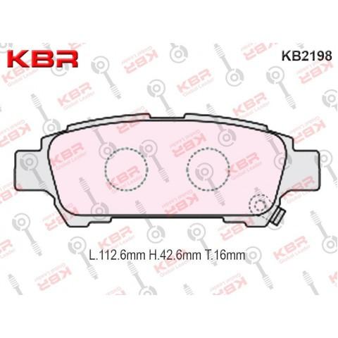KB2198   -   Brake Pad