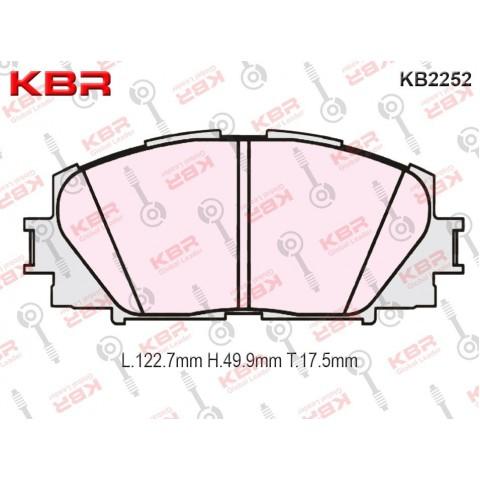 KB2252   -   Brake Pad