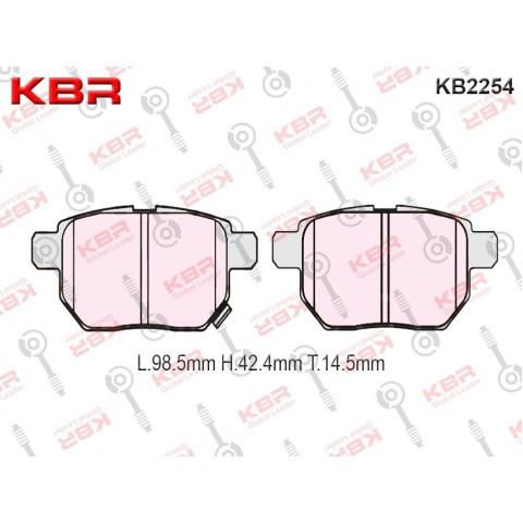 KB2254   -   Brake Pad