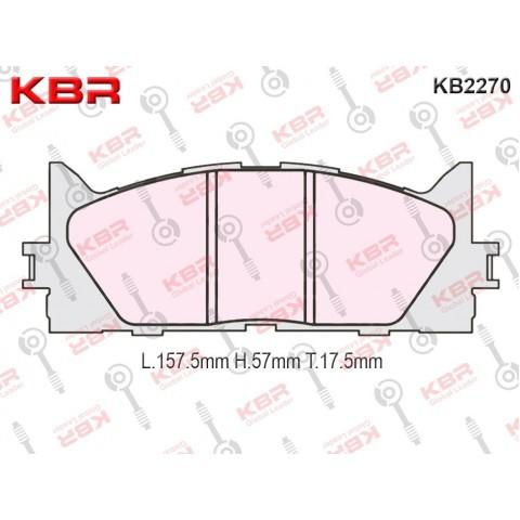 KB2270   -   Brake Pad
