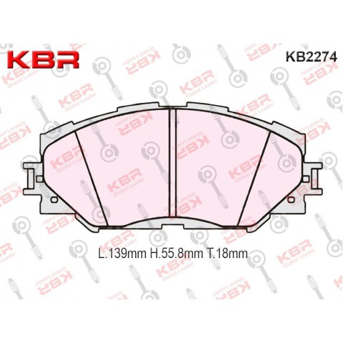 KB2274   -   Brake Pad