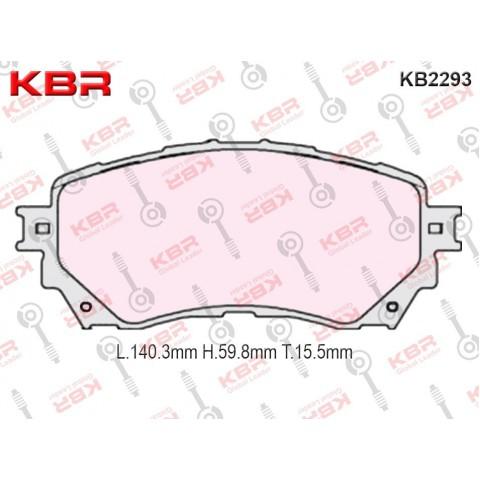 KB2293   -   Brake Pad