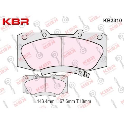 KB2310   -   Brake Pad