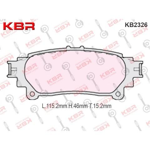 KB2326   -   Brake Pad