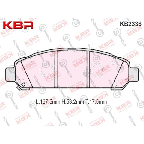 KB2336   -   Brake Pad
