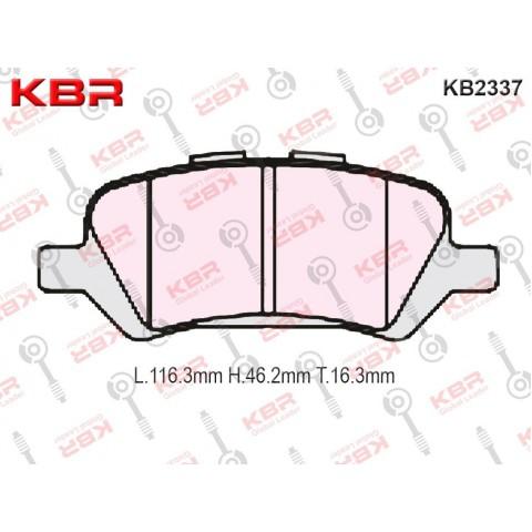 KB2337   -   Brake Pad