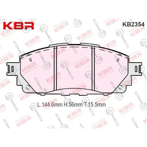 KB2354   -   Brake Pad