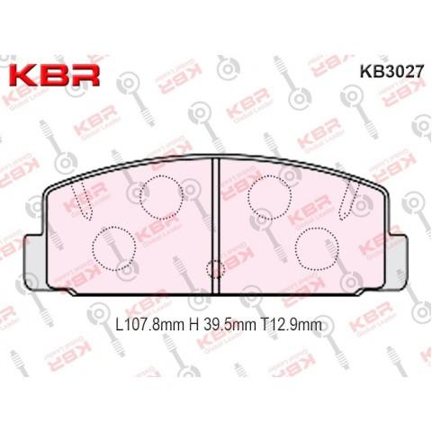 KB3027 – Brake Pad
