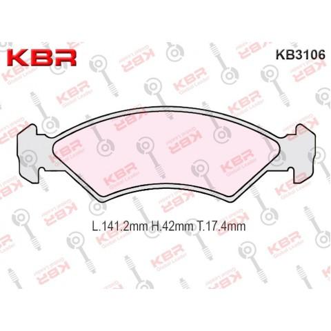 KB3106   -   Brake Pad