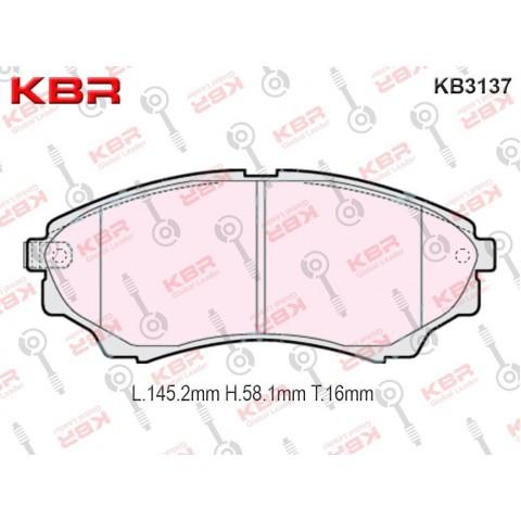 KB3137   -   Brake Pad