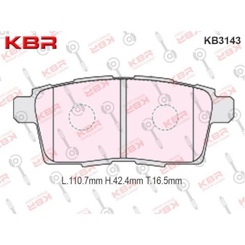 KB3143   -   Brake Pad