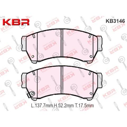 KB3146   -   Brake Pad