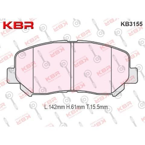 KB3155   -   Brake Pad