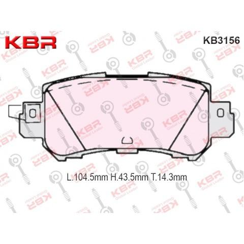 KB3156   -   Brake Pad