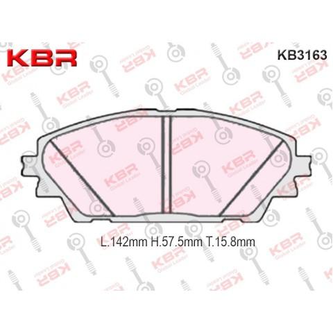 KB3163   -   Brake Pad