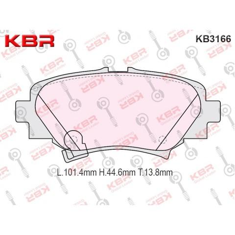 KB3166   -   Brake Pad