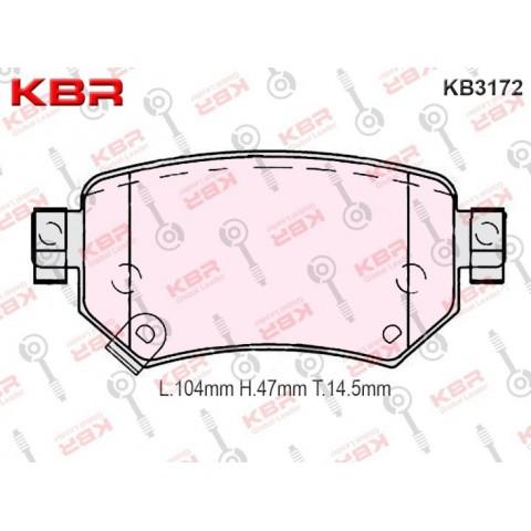 KB3172   -   Brake Pad