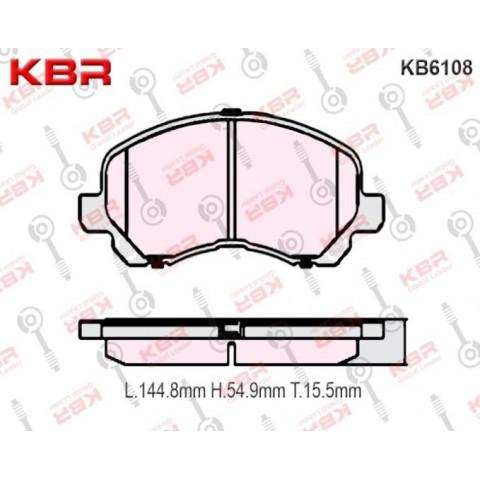 KB6108   -   Brake Pad