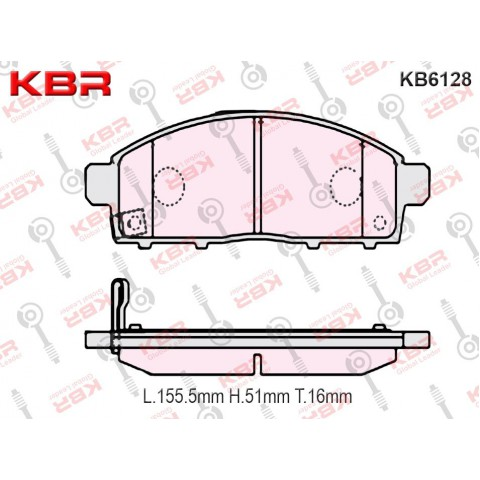 KB6128   -   Brake Pad