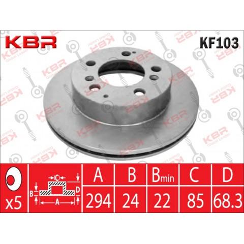 KF103   -   BRAKE DISC