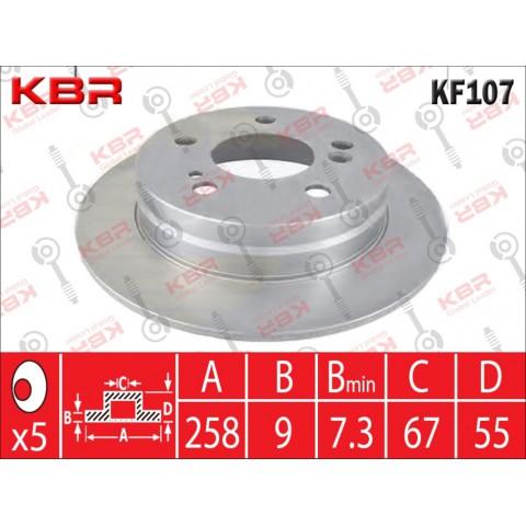 KF107   -   BRAKE DISC