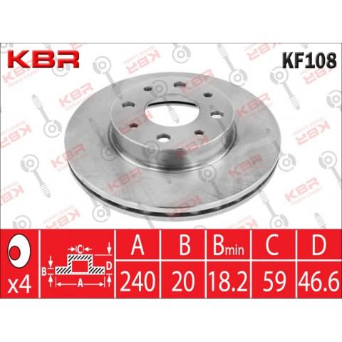 KF108   -   BRAKE DISC
