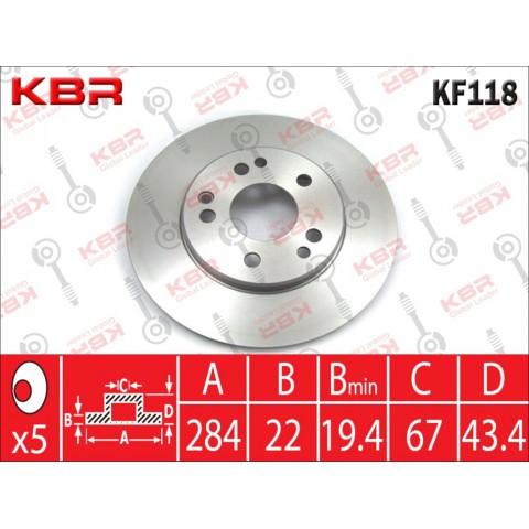 KF118   -   BRAKE DISC