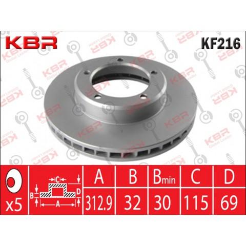 KF216   -   BRAKE DISC