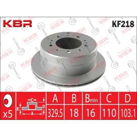 KF218   -   BRAKE DISC