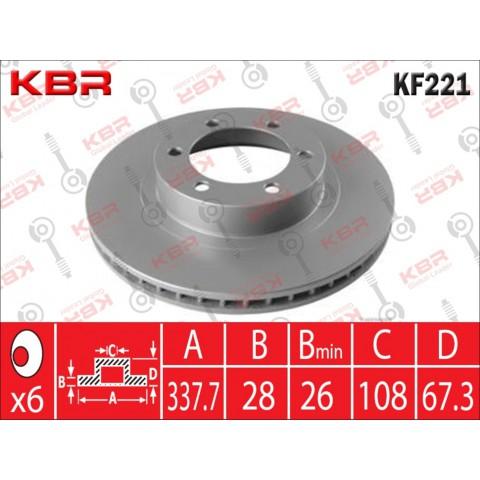 KF221   -   BRAKE DISC