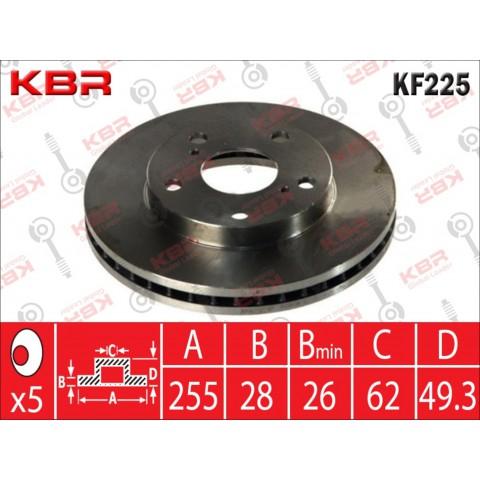 KF225   -   BRAKE DISC