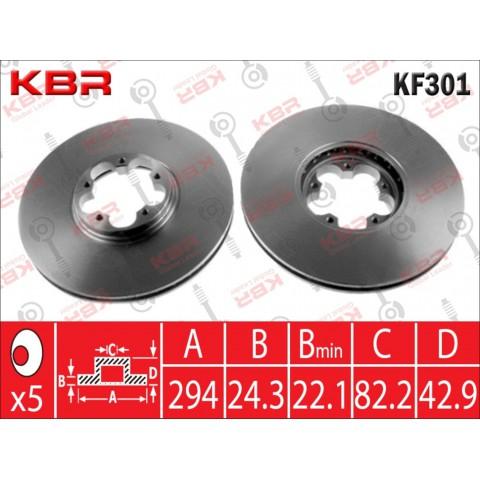 KF301   -   BRAKE DISC