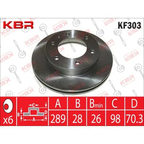 KF303   -   BRAKE DISC