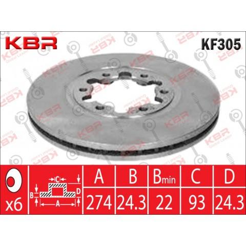 KF305   -   BRAKE DISC