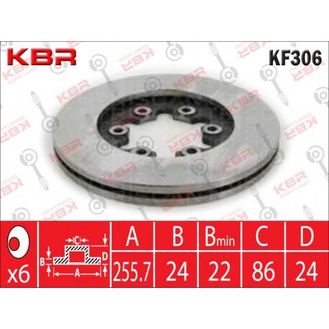 KF306   -   BRAKE DISC