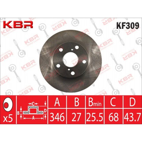 KF309   -   BRAKE DISC
